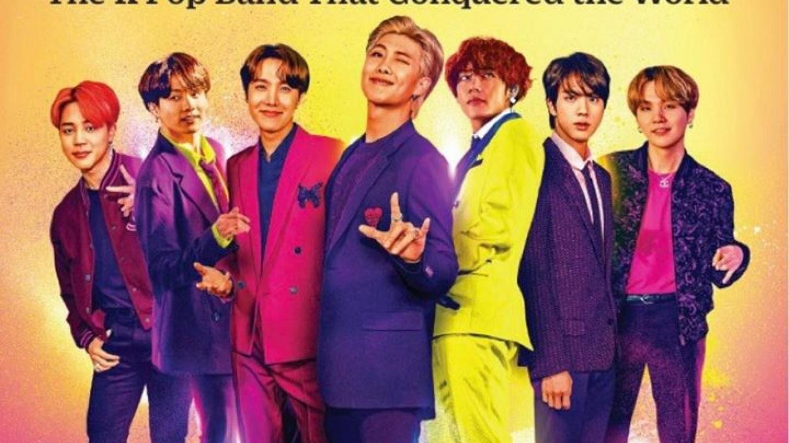 Nhóm nhạc BTS được vinh danh trên tạp chí TIME số đặc biệt