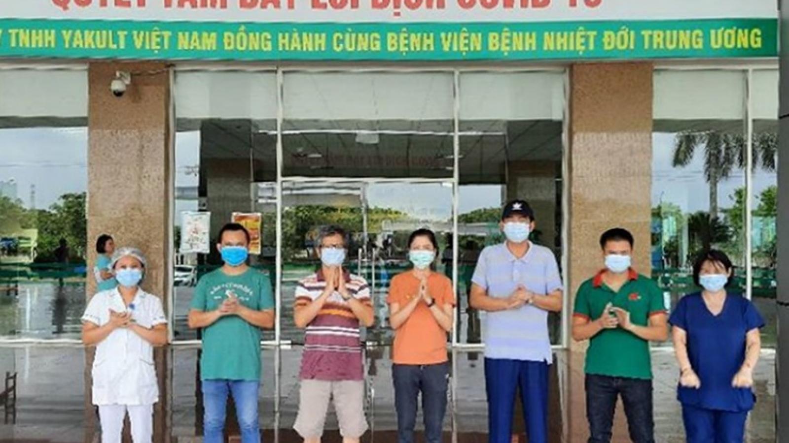 Thêm 5 bệnh nhân mắc Covid-19 tại Việt Nam được điều trị khỏi