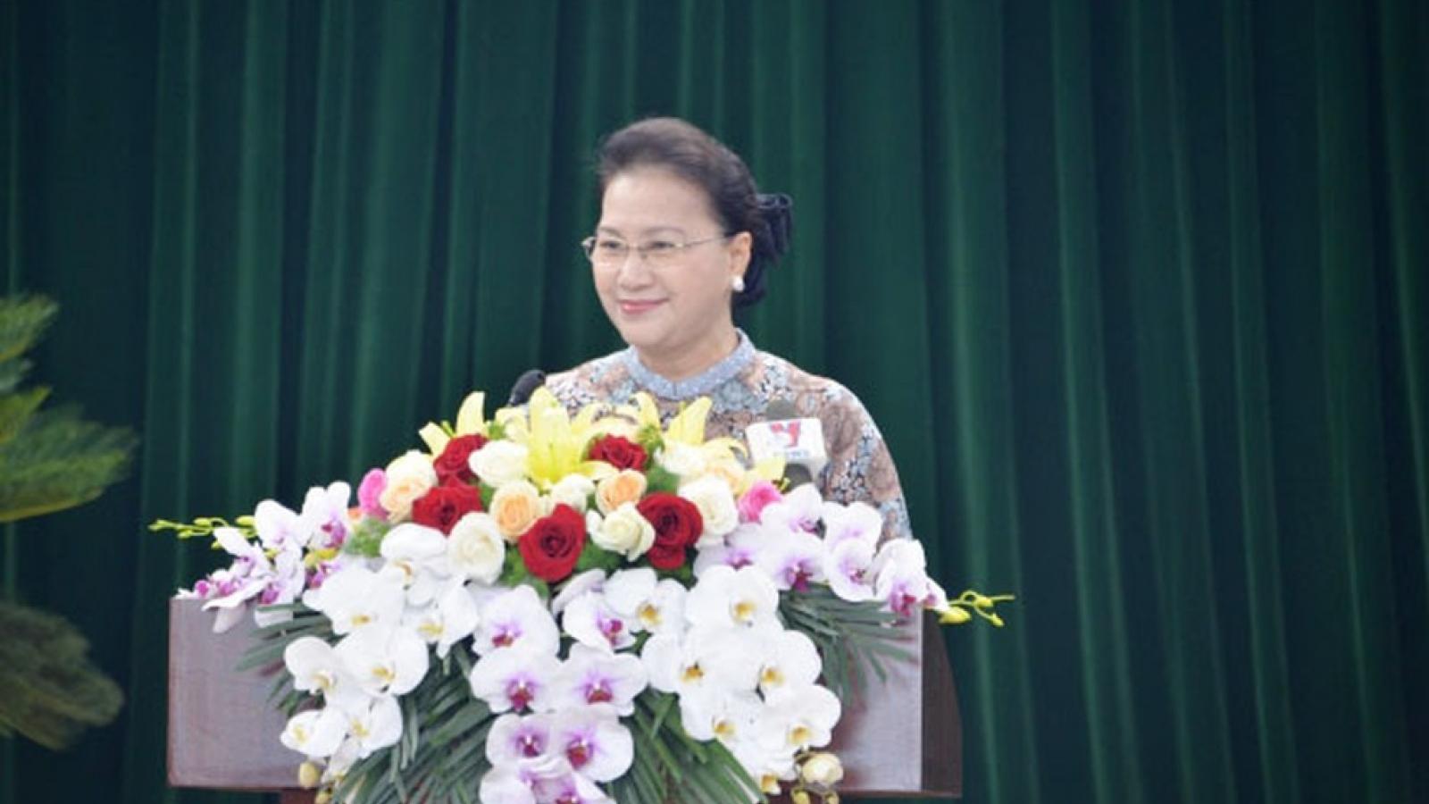 Chủ tịch Quốc hội dự khai mạc HĐND tỉnh Hải Dương
