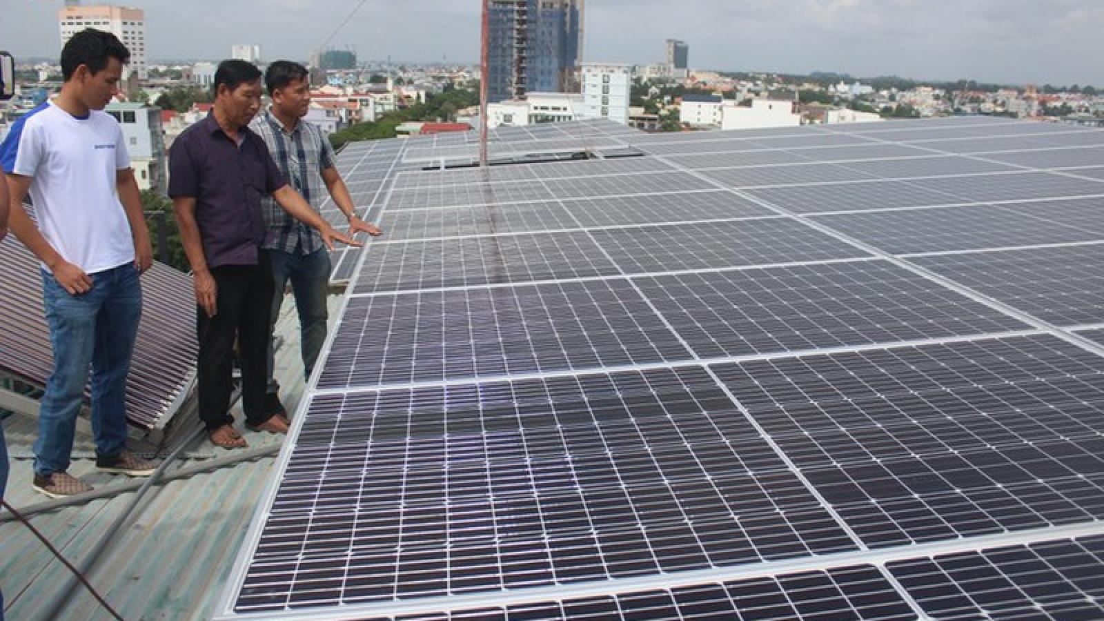 Khó phân biệt và xử lý điện mặt trời mái nhà và mặt đất nối lưới