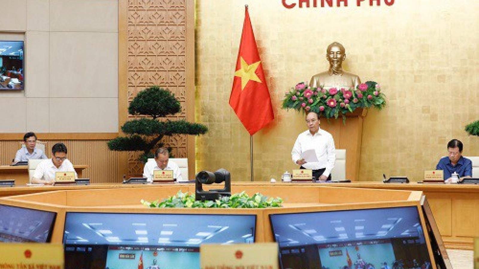 Thủ tướng: Tình hình dịch bệnh Covid-19 diễn biến nhanh và phức tạp