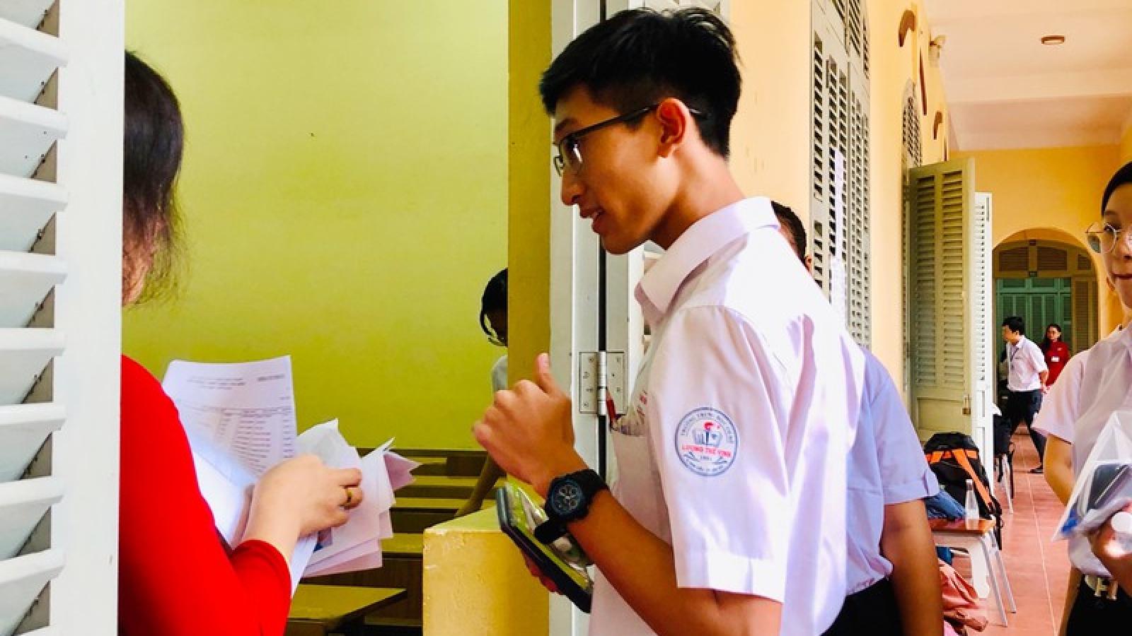Gần 13.000 thí sinh Cần Thơ bước vào kỳ tuyển sinh lớp 10 năm 2020