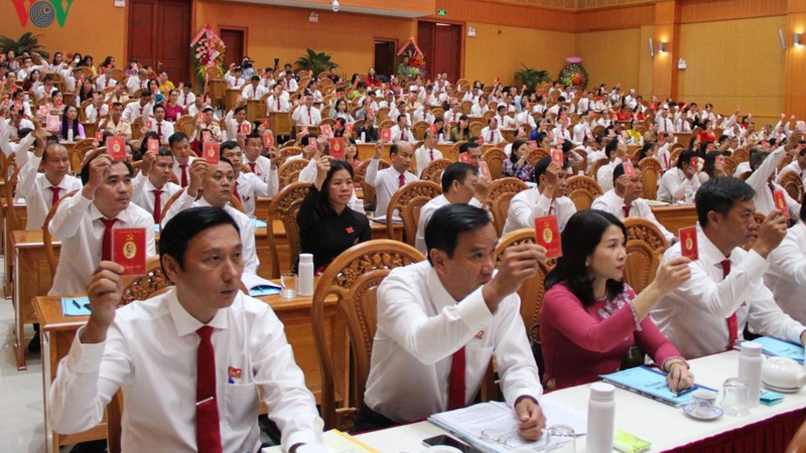 Ông Đặng Minh Thông tái đắc cử Bí thư Thành uỷ Bà Rịa