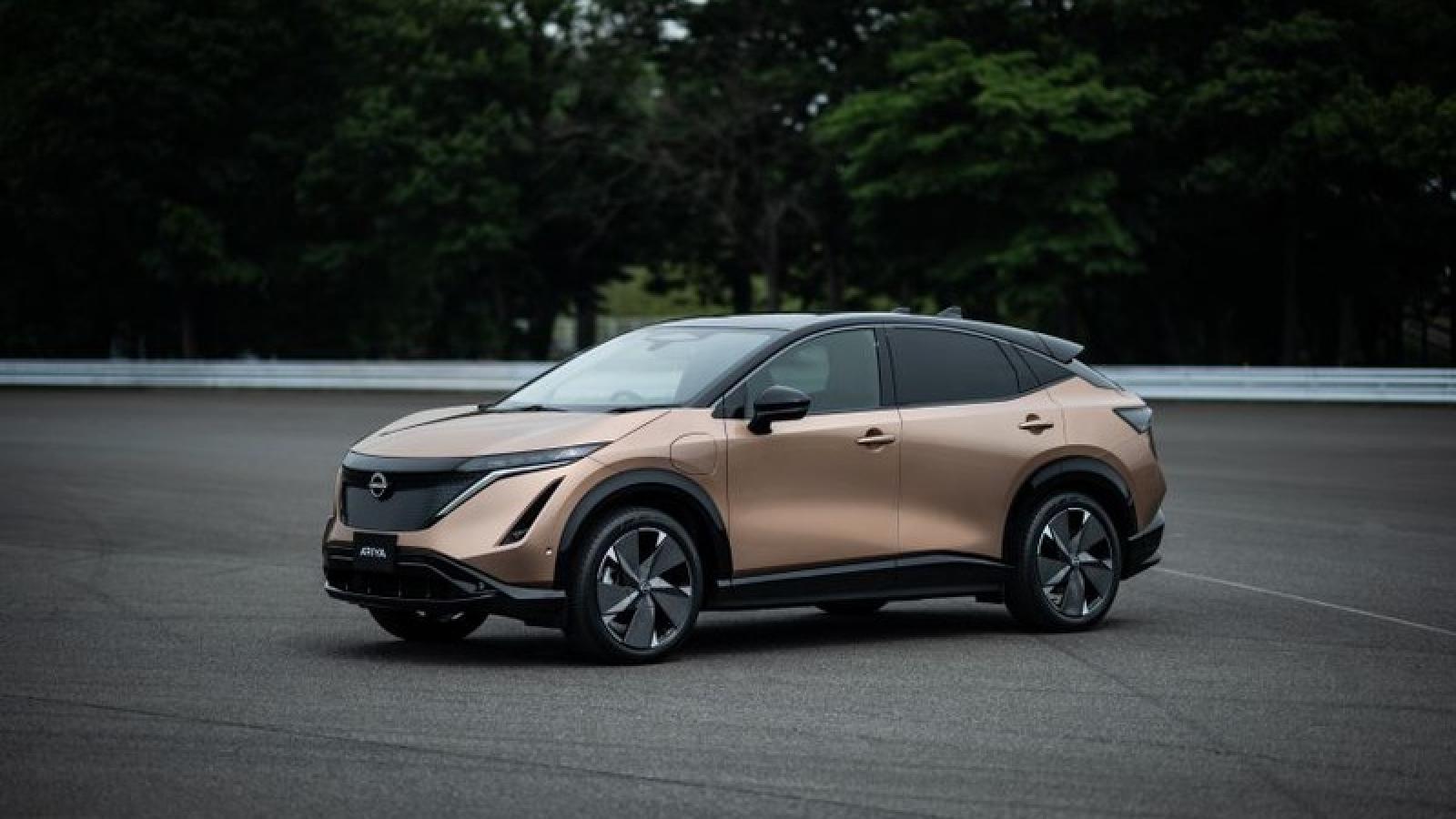 Nissan Ariya - đối thủ SUV điện mới của Tesla Model Y