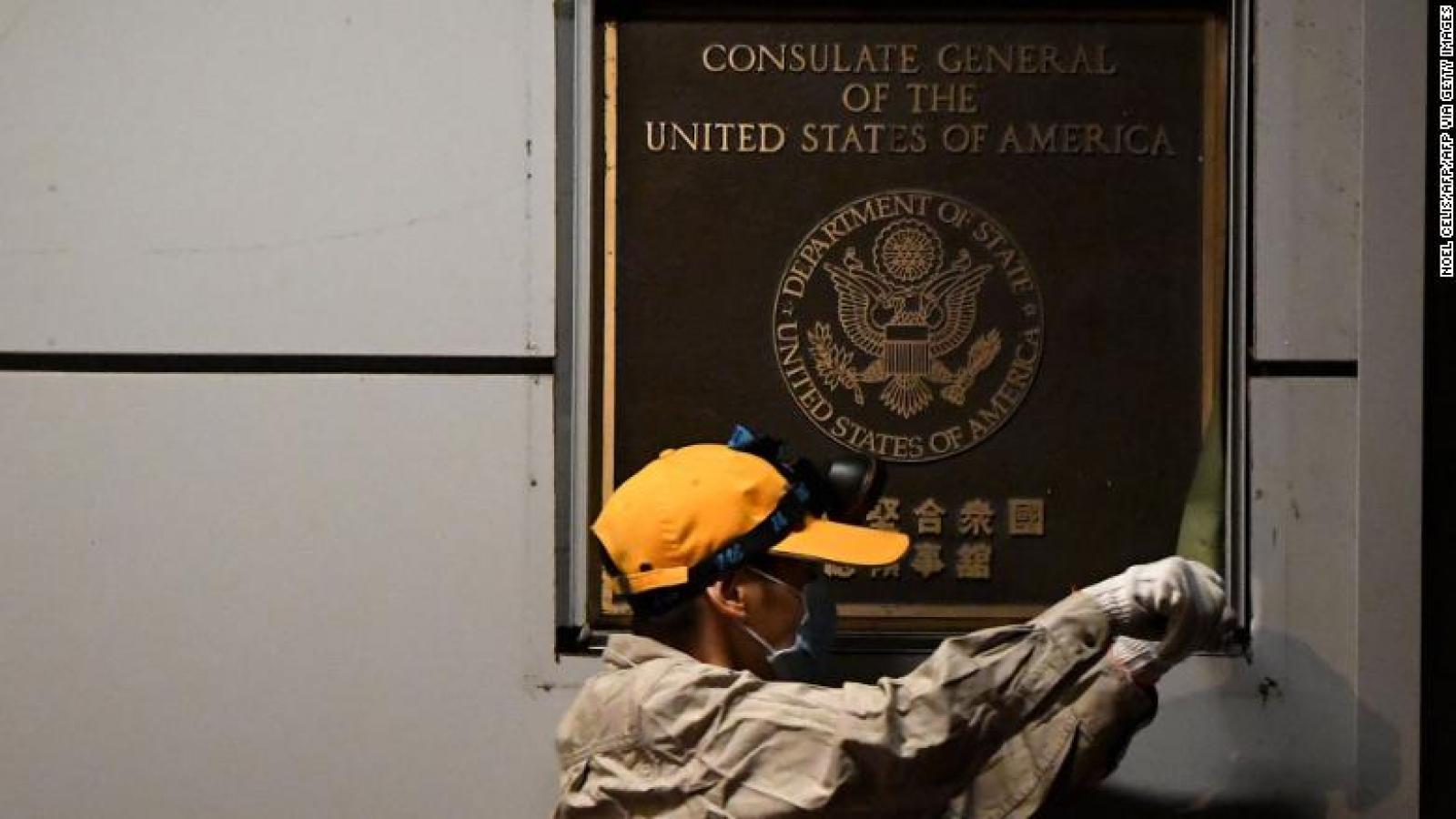 Tổng lãnh sự quán Mỹ tại Thành Đô (Trung Quốc) chính thức đóng cửa