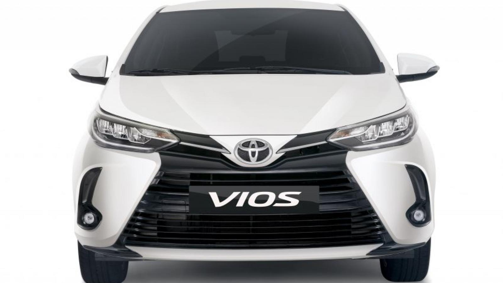 Khám phá Toyota Vios 2021 vừa ra mắt