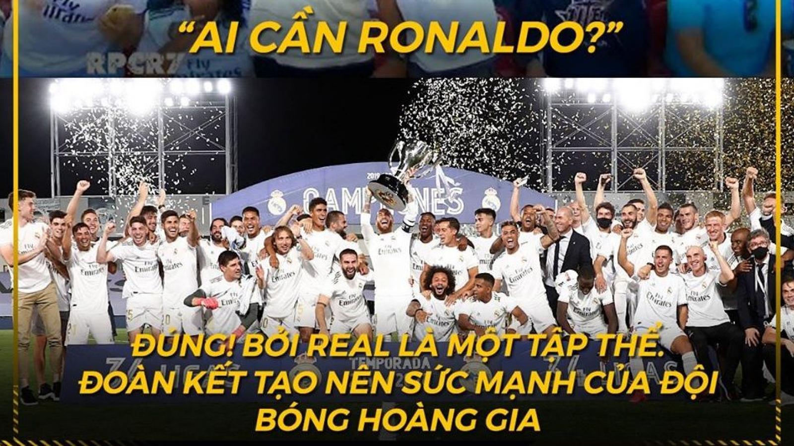 Biếm họa 24h: Real Madrid vô địch La Liga đầu tiên khi vắng Ronaldo