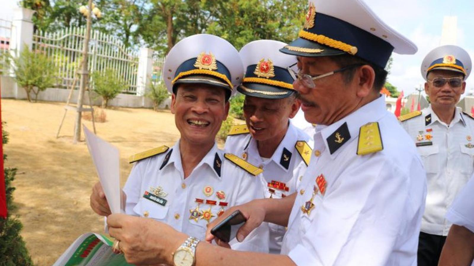 Xúc động gặp lại những cựu binh Tàu không số tại Hải Phòng