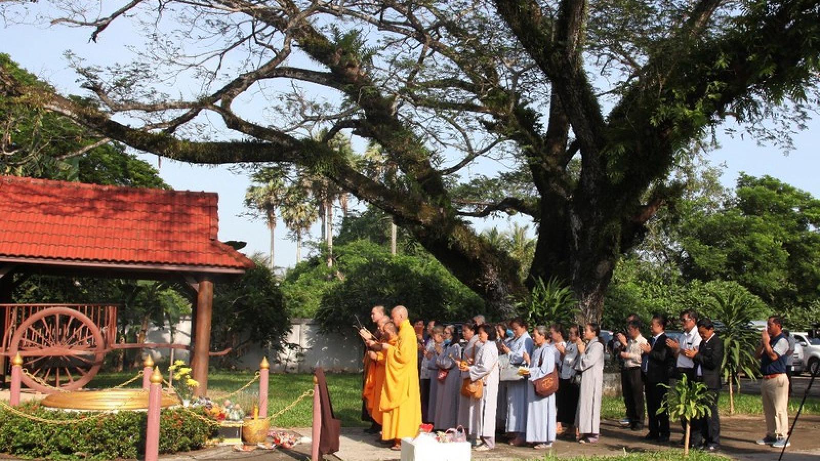 Lào tổ chức lễ tưởng niệm tại Khu di tích Liên minh chiến đấu Lào-Việt