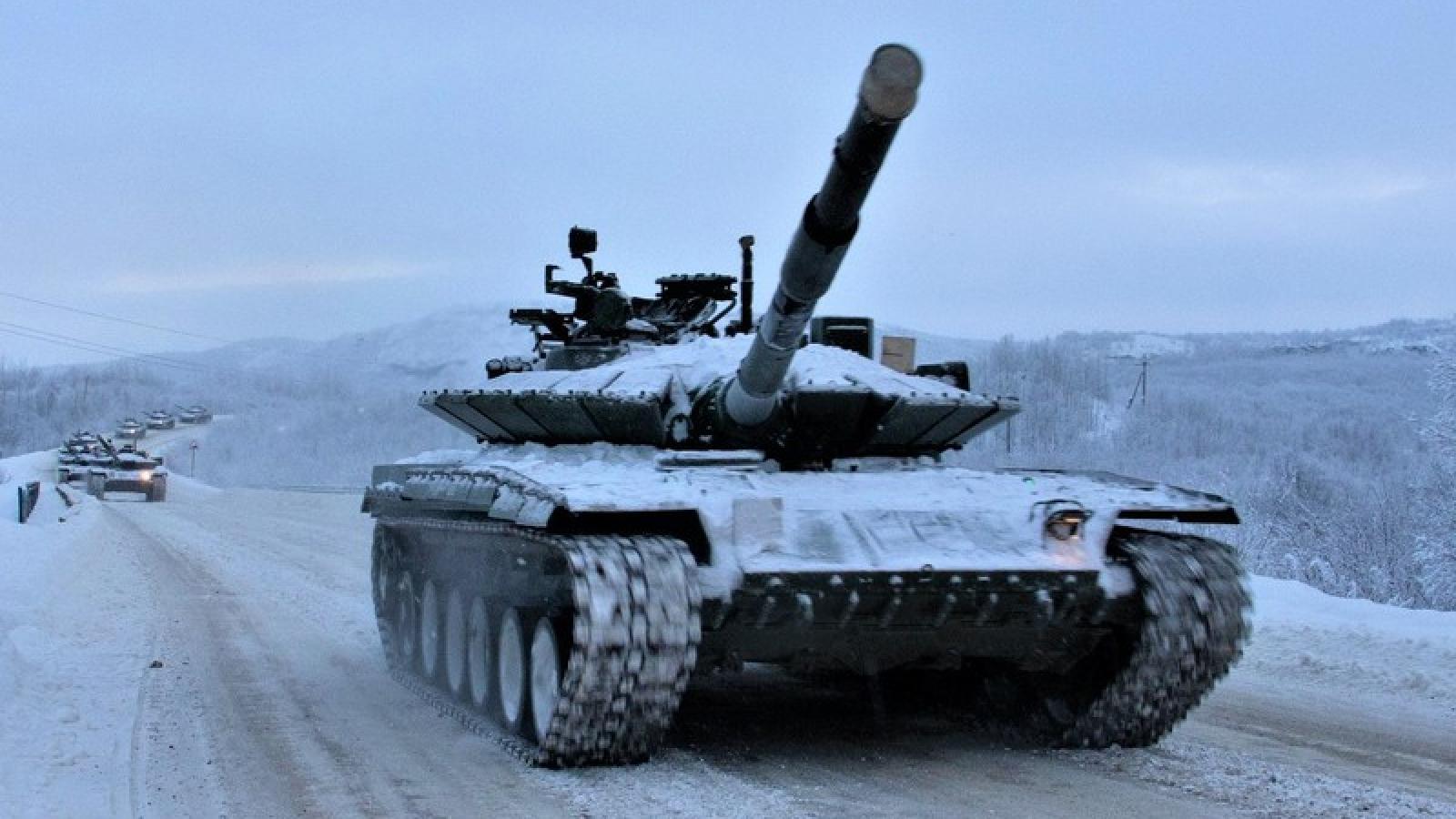 """Nga đưa """"xe tăng Bắc Cực"""" vào trang bị đại trà"""