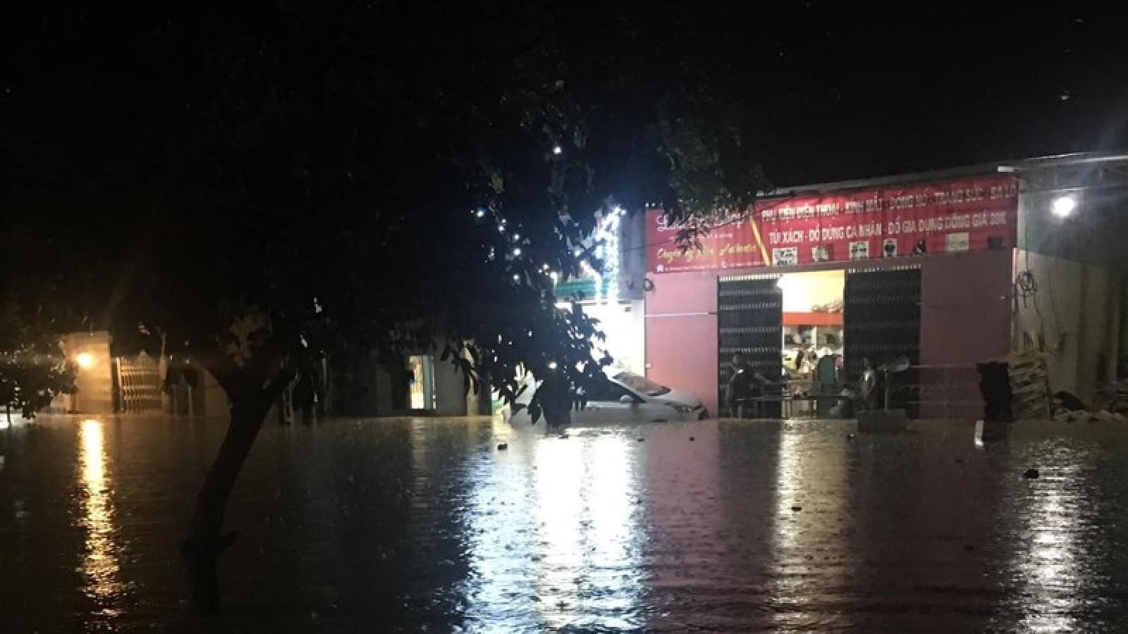 Mưa to lũ ống ở Hà Giang: Nhà máy thủy điện Thái An bị tê liệt hoàn toàn