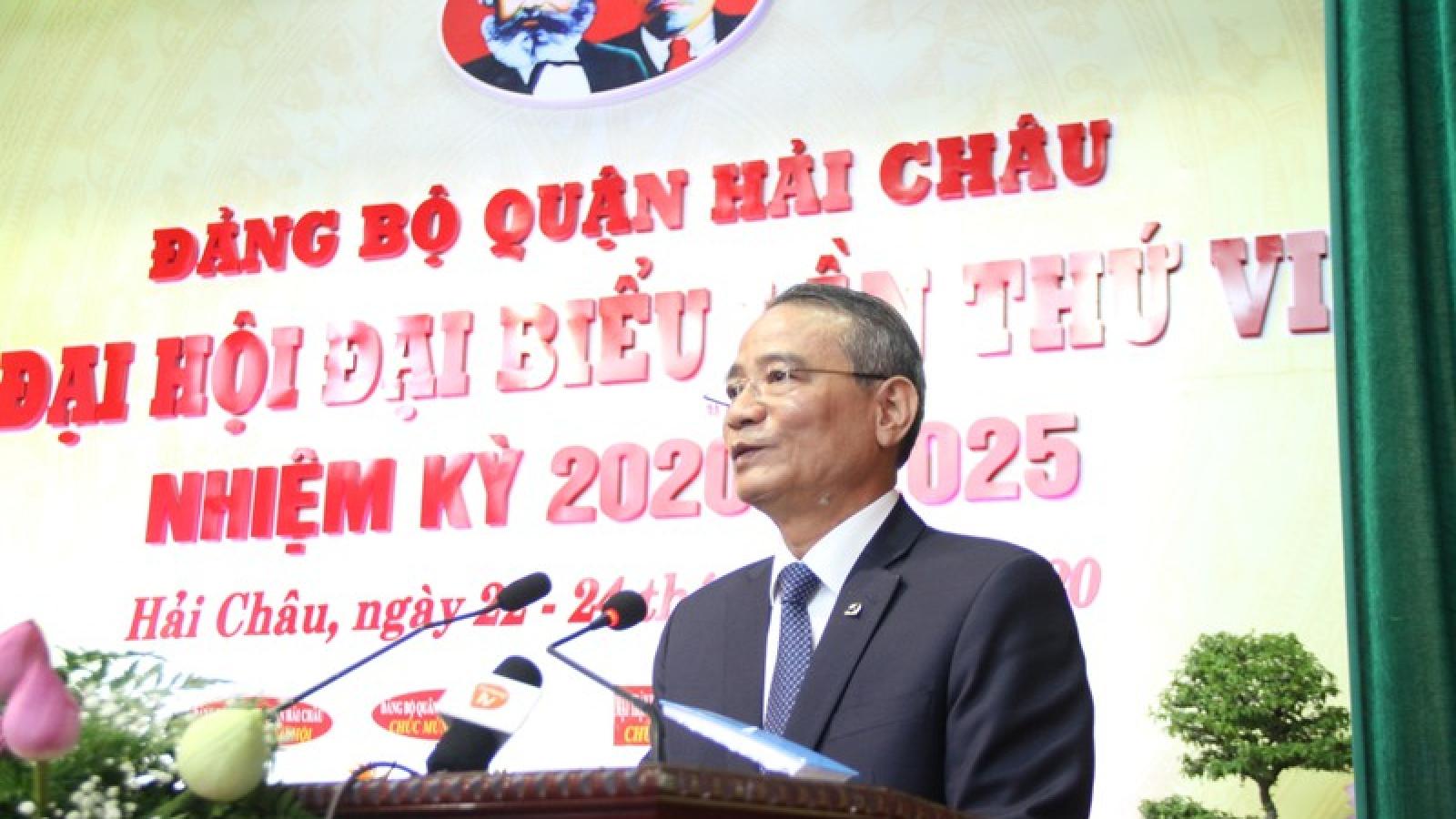 Ông Lương Nguyễn Minh Triết tái đắc cử Bí thư Quận ủy Hải Châu