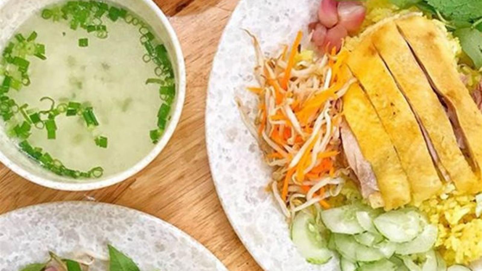 Phu Yen-style chicken rice