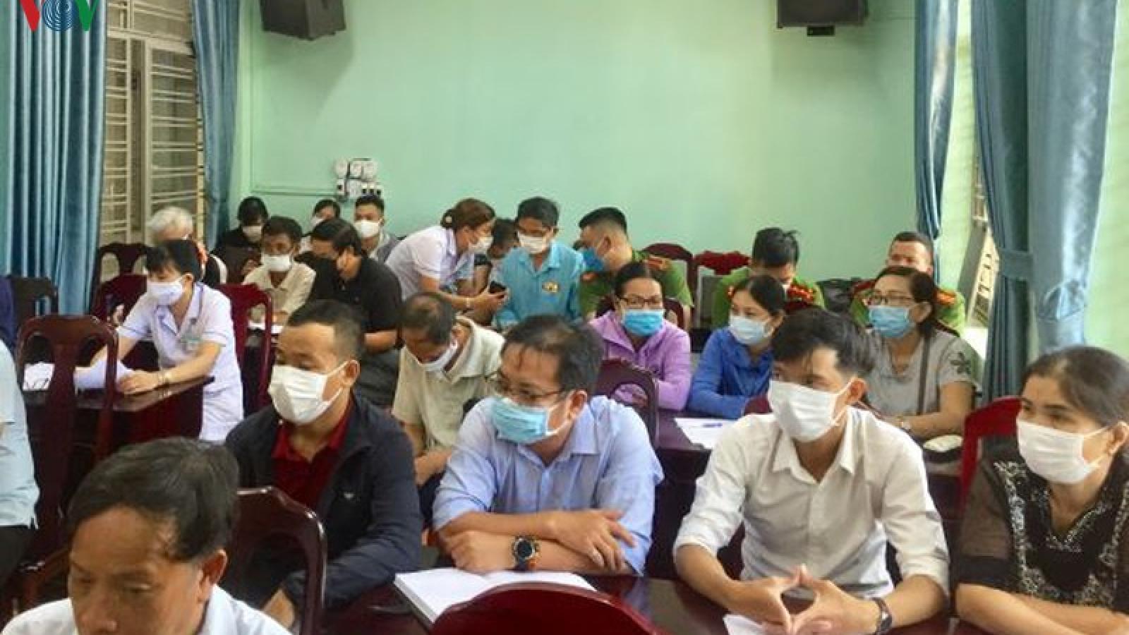 Bộ Y tế hướng dẫn giám sát dân cư nơi bệnh nhân 416 cư trú