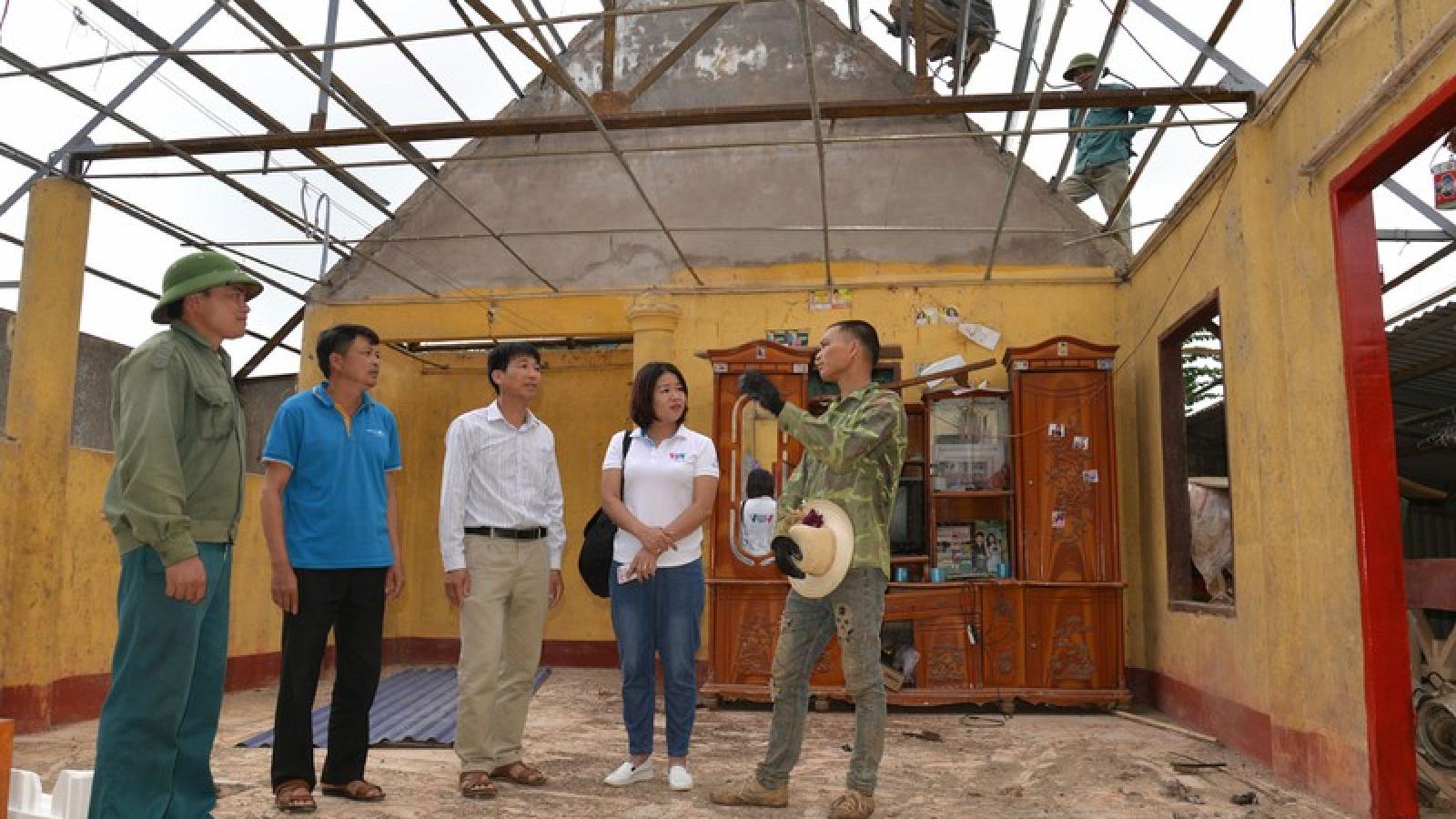 Ảnh: Mộc Châu, Sơn La nhanh chóng khắc phục hậu quả do động đất