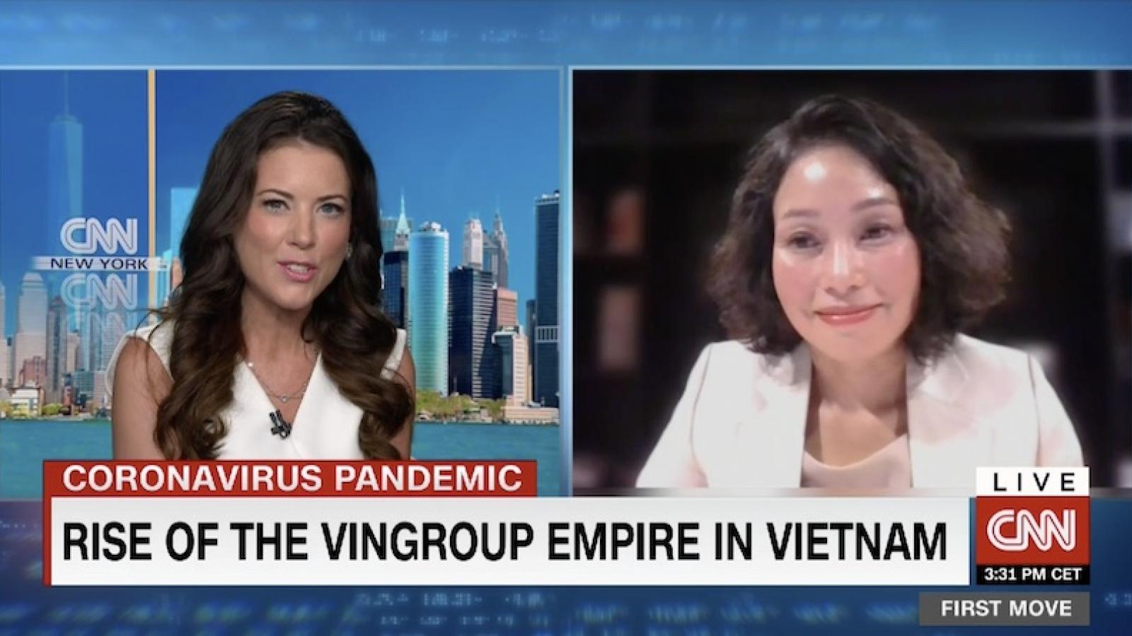 CNN: Vượt qua đại dịch, Vingroup thẳng tiến thị trường Mỹ