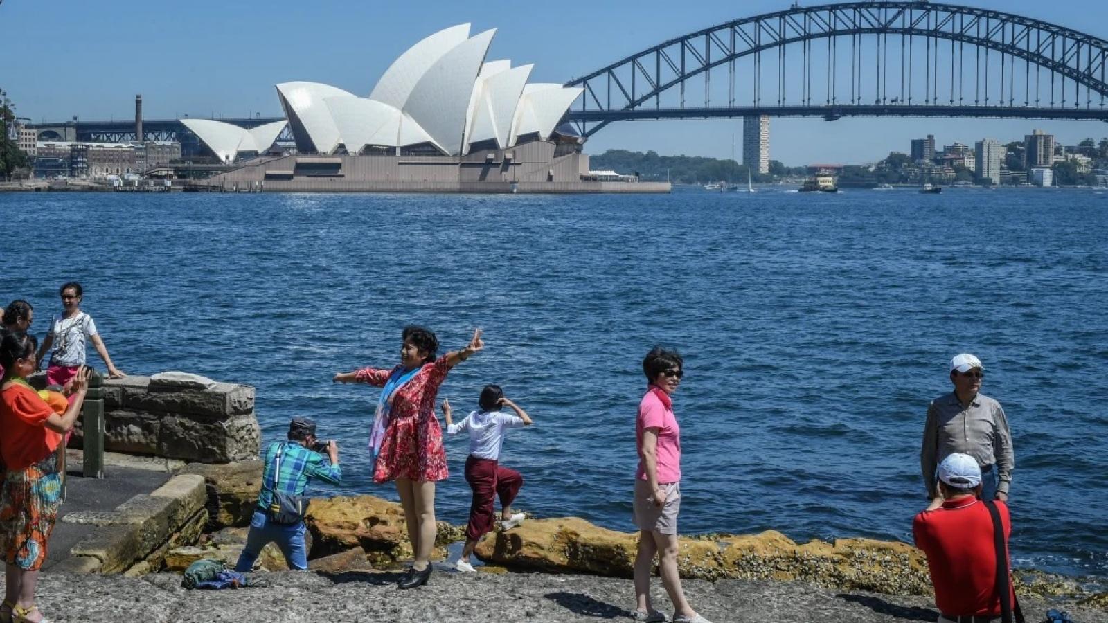 Trung Quốc cảnh báo công dân có thể bị tịch thu tài sản tại Australia