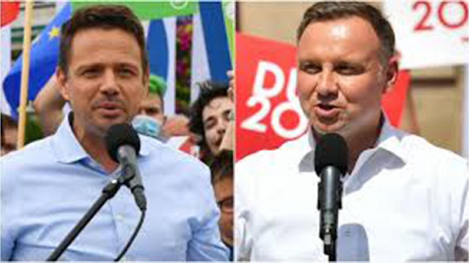 Bầu cử tổng thống Ba Lan: Tổng thống đương nhiệm Duda giành lợi thế