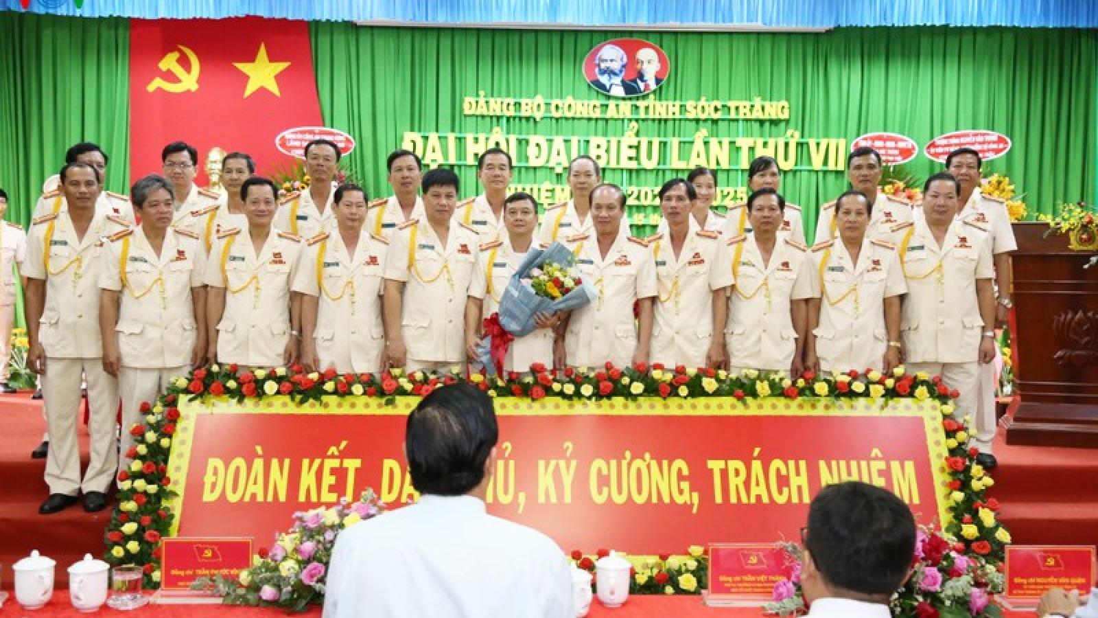 Đại tá Nguyễn Minh Ngọc tái đắc cử Bí thư Đảng ủy Công an Sóc Trăng