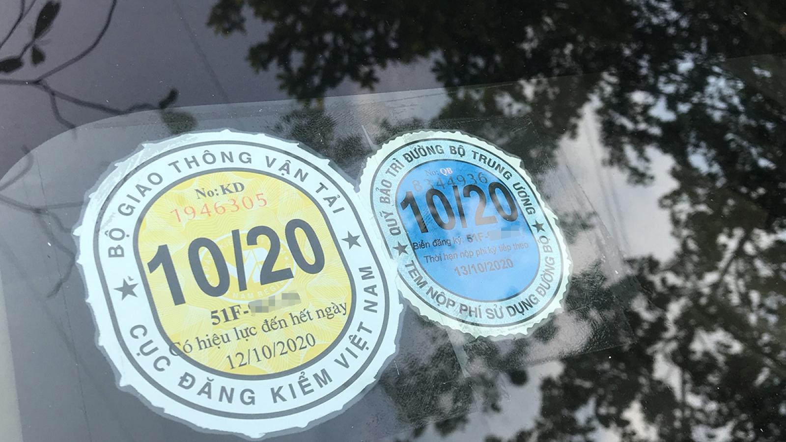 Mức phạt xe ô tô quá hạn đăng kiểm năm 2020