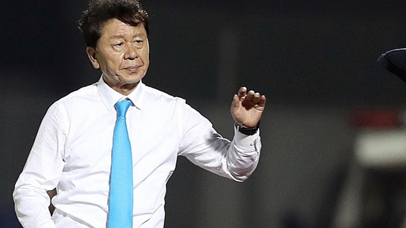 Lý do thực sự HLV Chung Hae-seong rời CLB TPHCM
