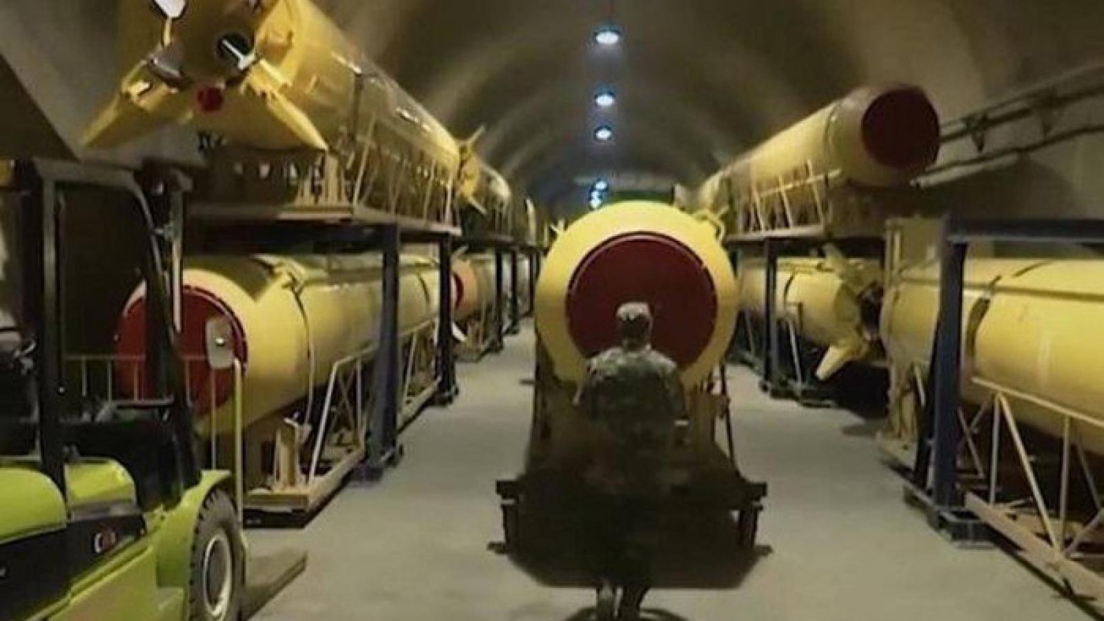 Mỹ coi Iran là mối đe dọa lớn nhất do xây dựng thành phố tên lửa ngầm