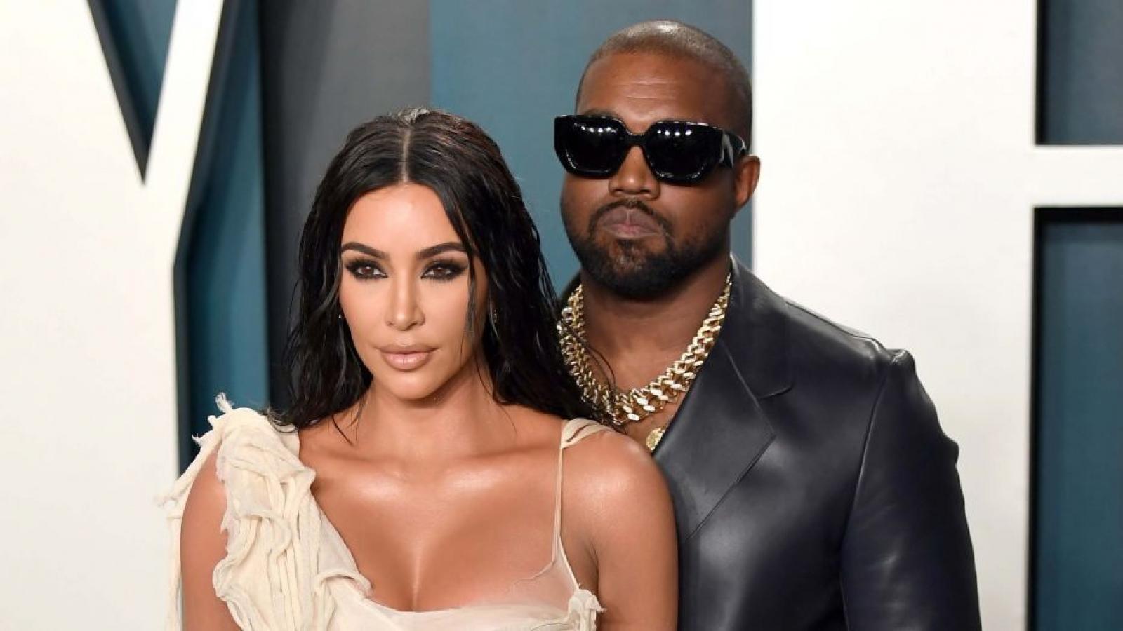 Kanye West tức giận, muốn ly hôn Kim Kardashian?