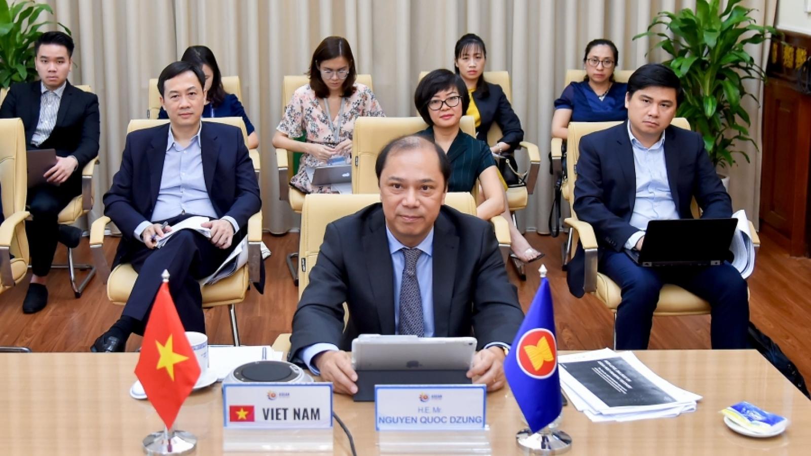 ASEAN thảo luận về khả năng hồi phục kinh tế sau đại dịch Covid-19
