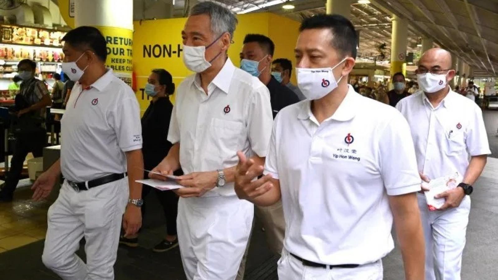 Singapore bước vào bầu cử Quốc hội