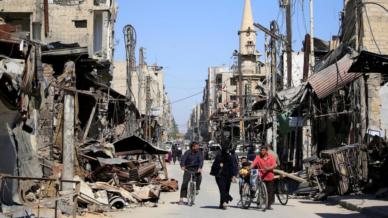 """Iran """"bắt tay"""" với Syria, thách thức sự hiện diện của Mỹ trong khu vực"""