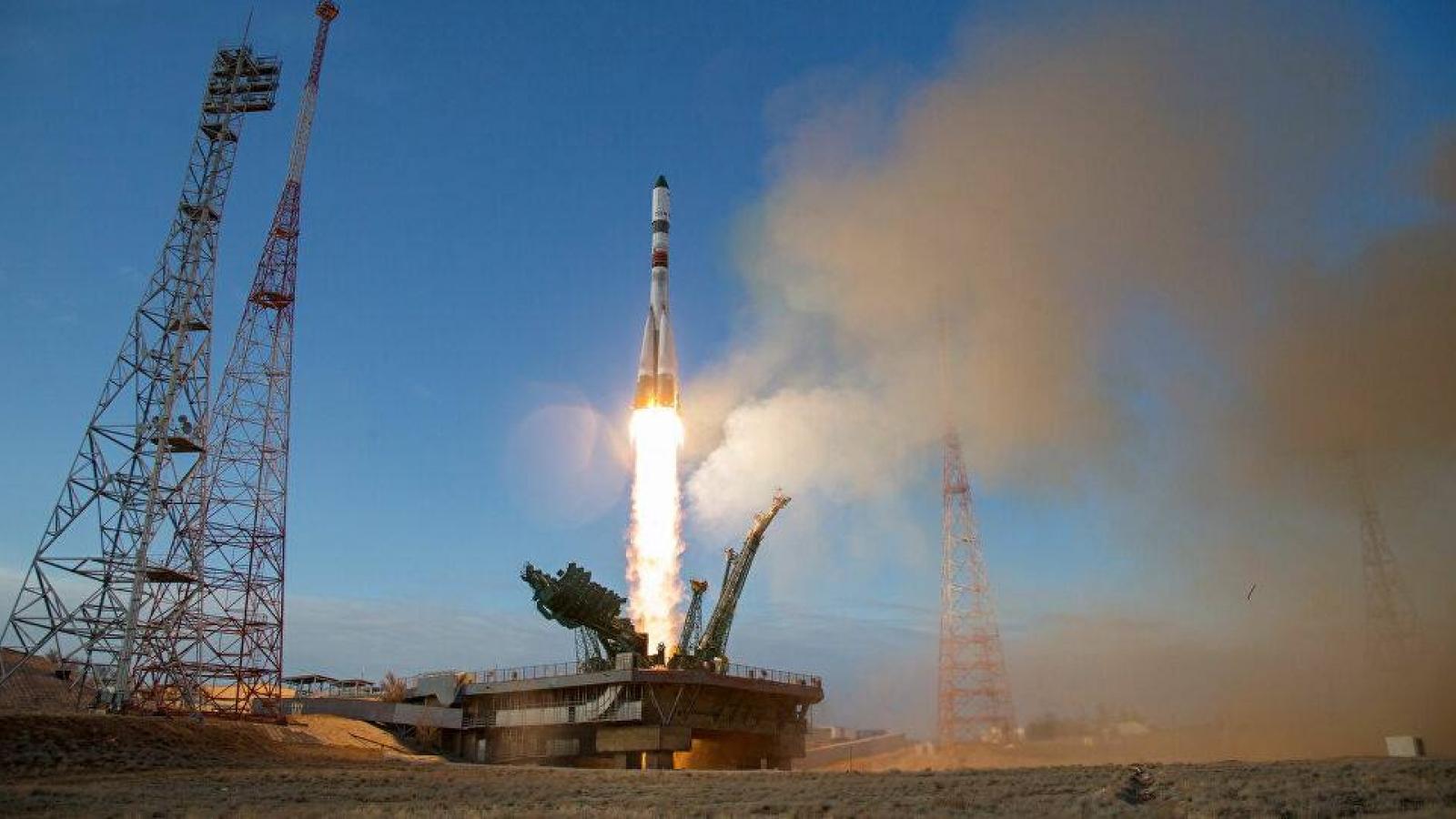 Tàu vũ trụ MS-13 của Nga bị chôn vùi ở Thái Bình Dương