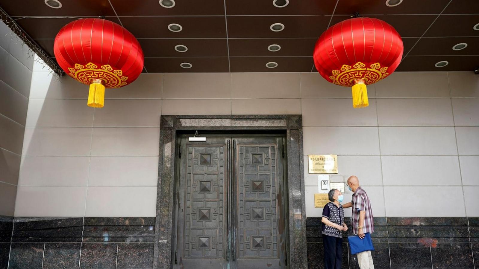 Trung Quốc từ chối đóng cửa Lãnh sự quán ở Houston