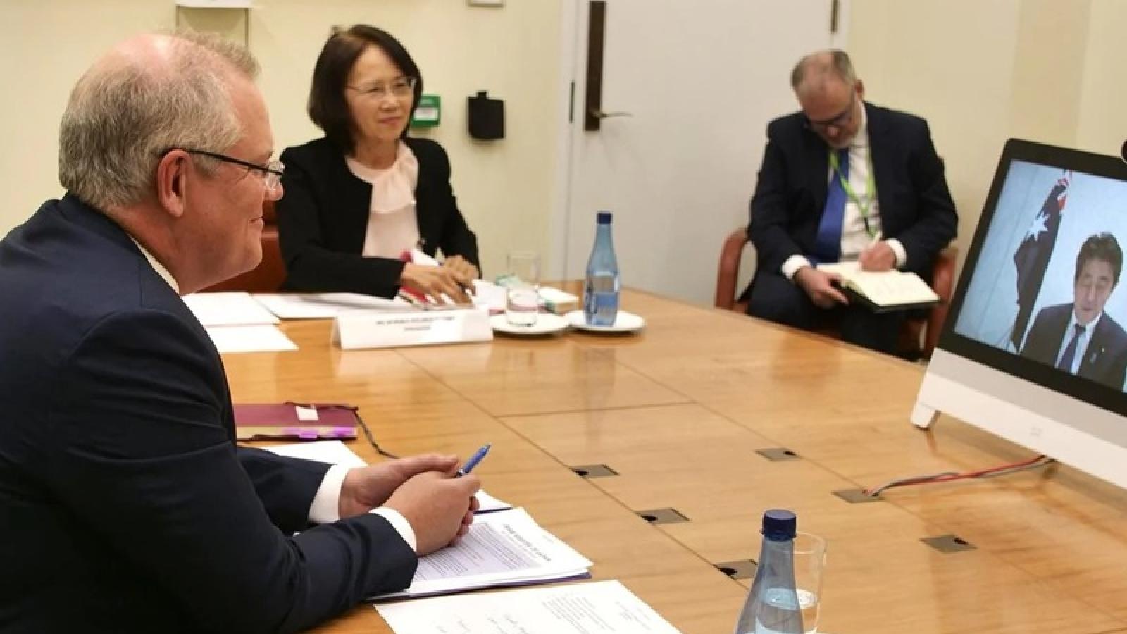 Australia-Nhật Bản hướng tới vai trò dẫn dắt khu vực, bàn về Biển Đông
