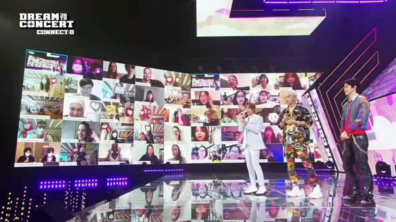 Fan K-pop Việt đeo khẩu trang, hò hét cổ vũ Dream Concert trực tuyến