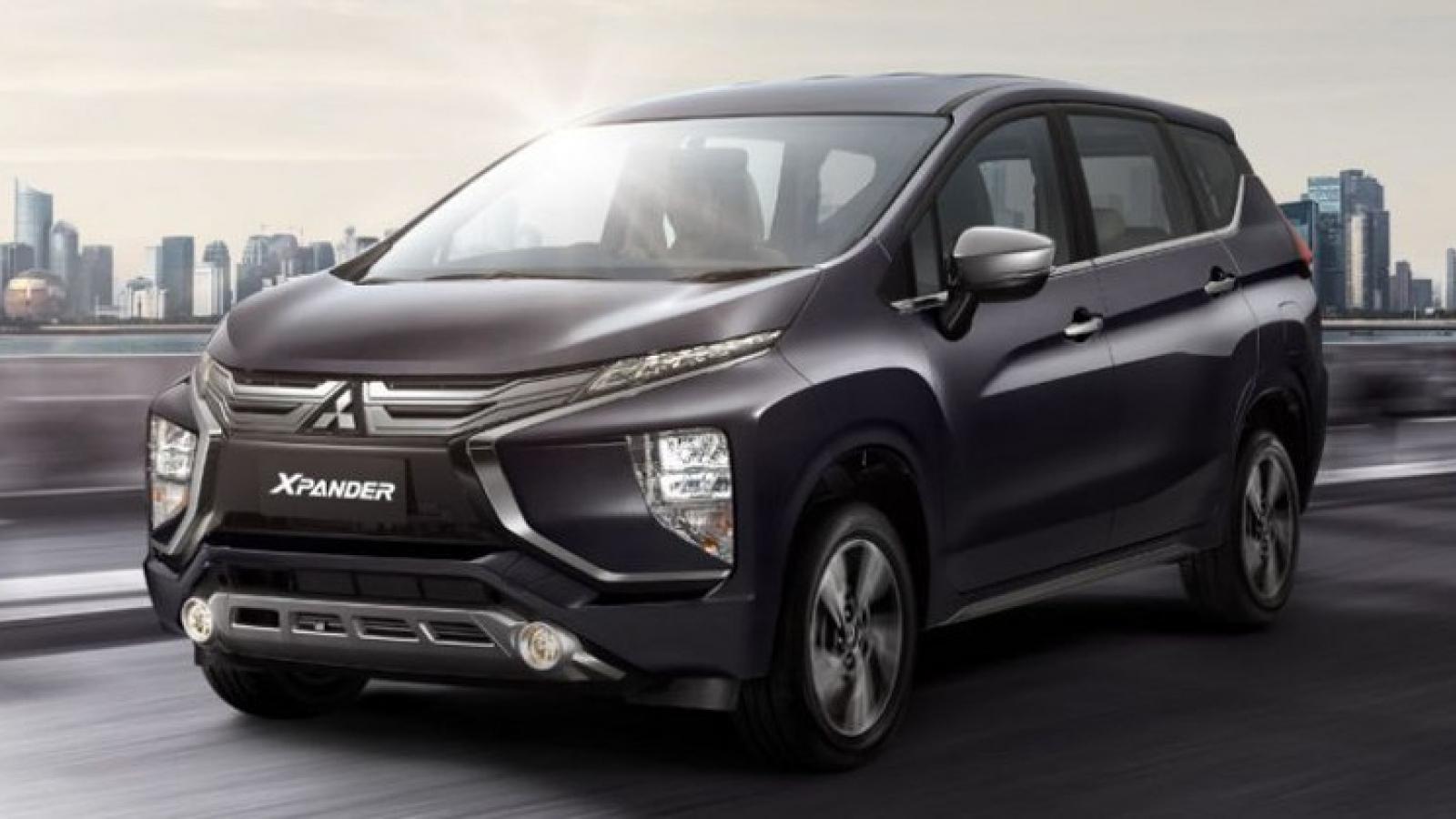Mitsubishi Xpander nâng cấp lộ diện trên đường