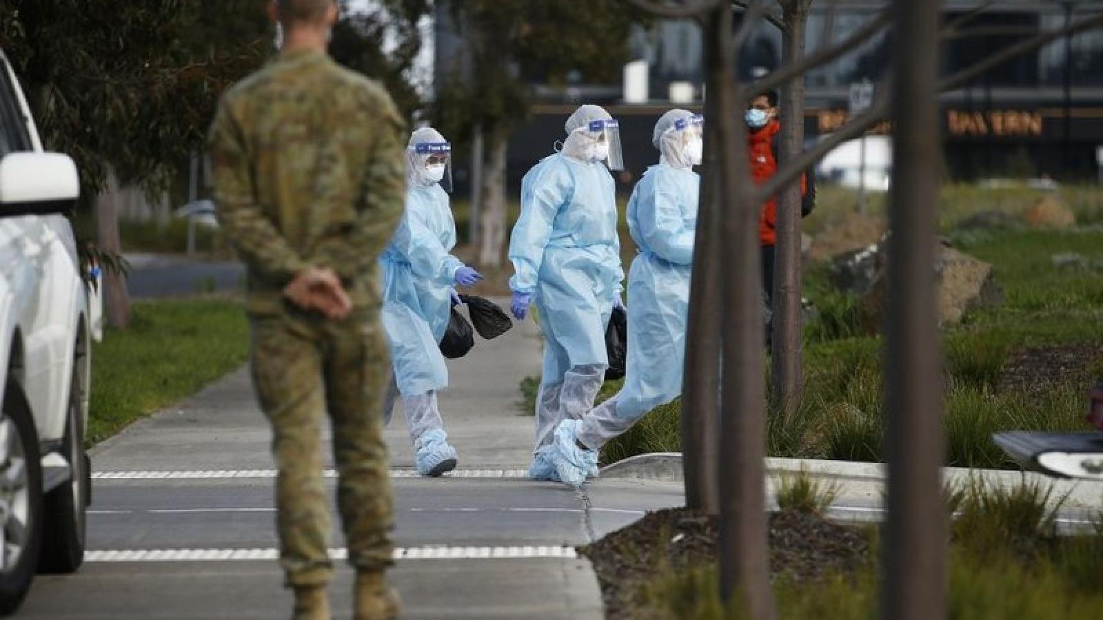 Số ca mắc Covid-19 tại Australia tăng chóng mặt