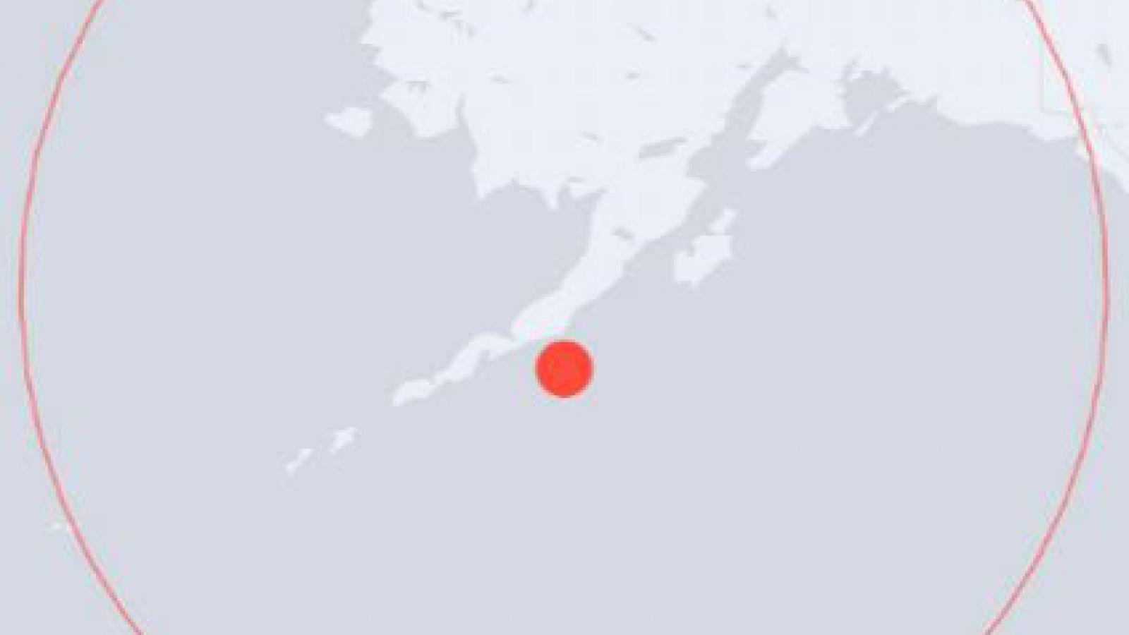 Cảnh báo sóng thần ở Alaska sau trận động đất mạnh 7,8 độ