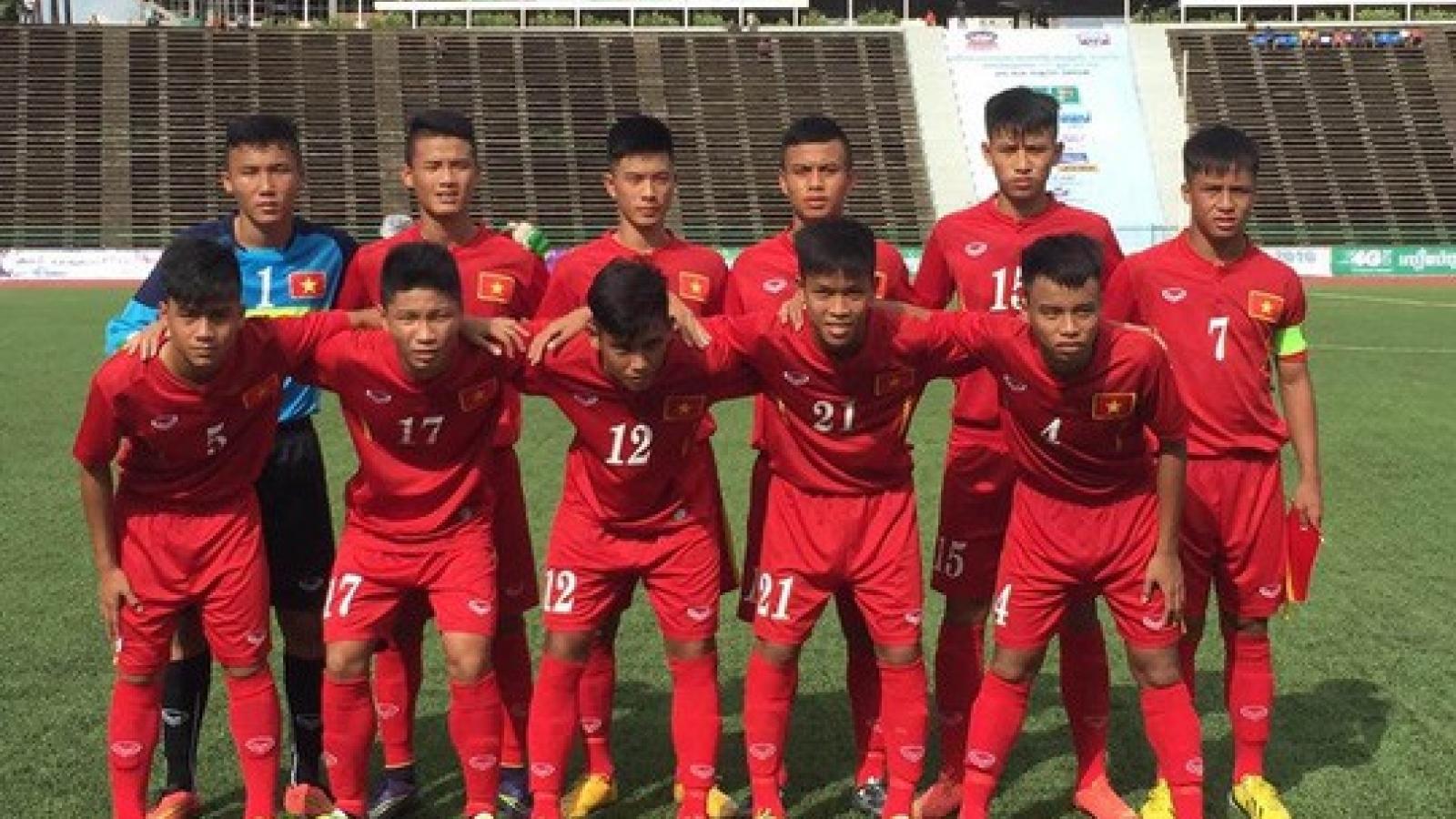 Ngày này năm xưa: U16 Việt Nam vượt qua sức ép khủng khiếp của 50.000 khán giả