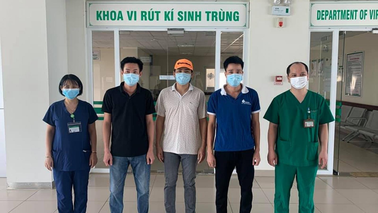 Thêm 3 ca khỏi bệnh, Việt Nam đã điều trị khỏi 360 ca mắc Covid-19