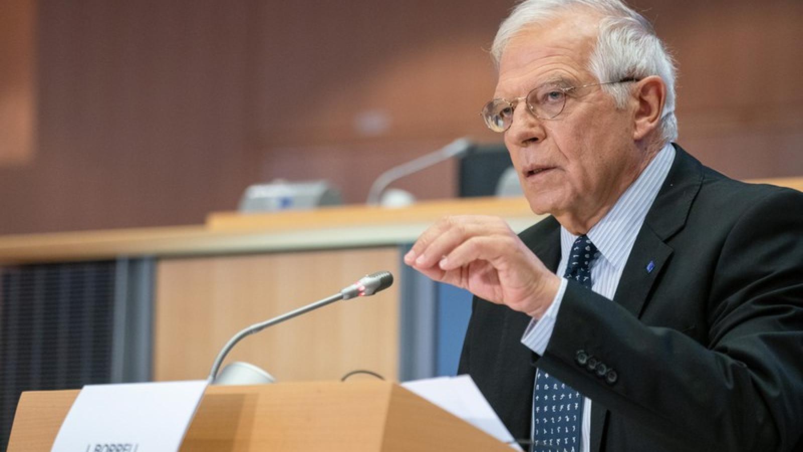EU lo ngại sâu sắc việc Mỹ gia tăng sử dụng các lệnh trừng phạt