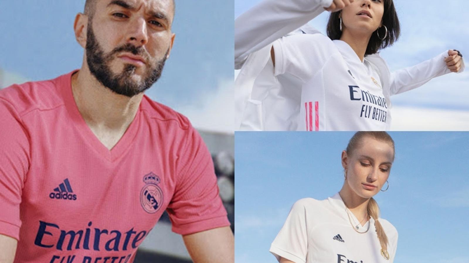 Lộ áo đấu của Real Madrid ở mùa giải 2020/2021