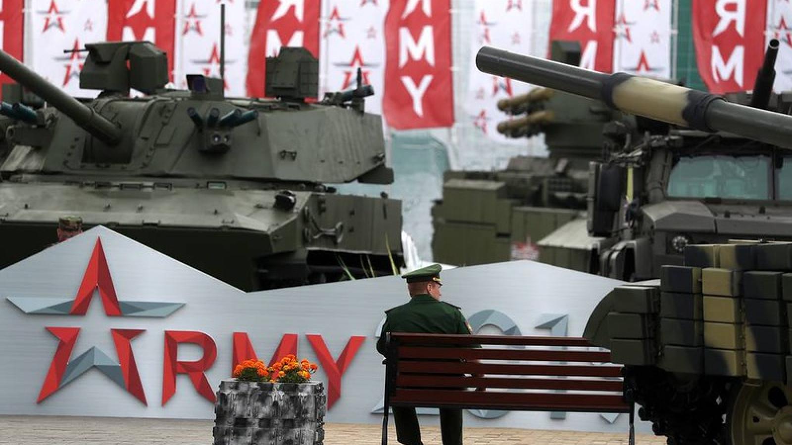 Diễn đàn Army 2020 sẽ trưng bày hơn 28.000 vũ khí và thiết bị quân sự