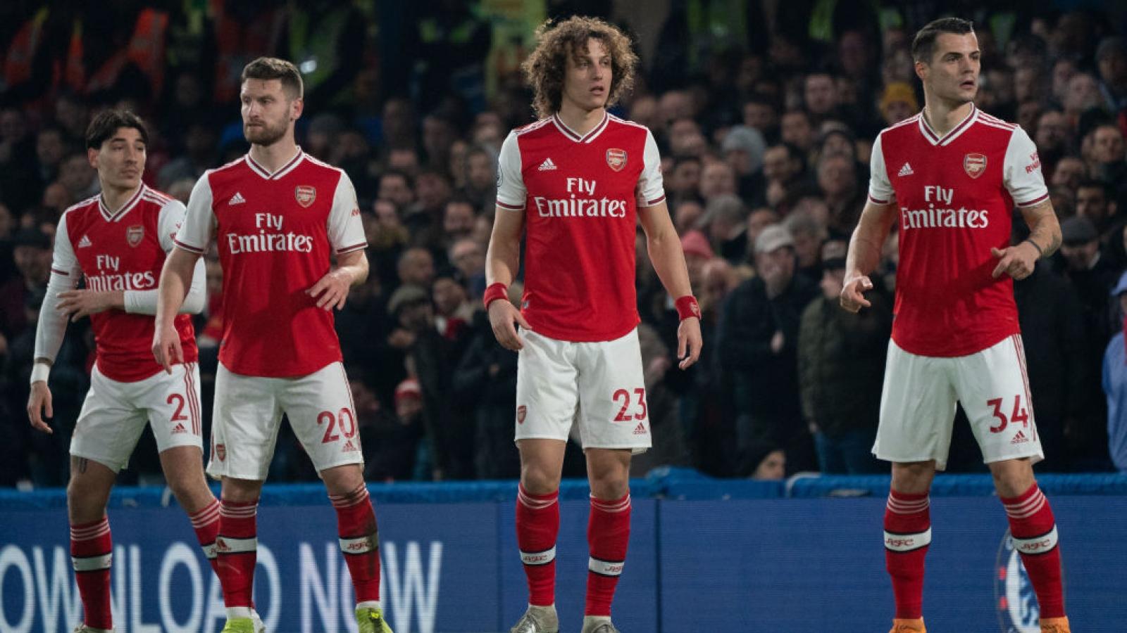 Arsenal thiệt quân ở trận đấu quan trọng nhất mùa giải
