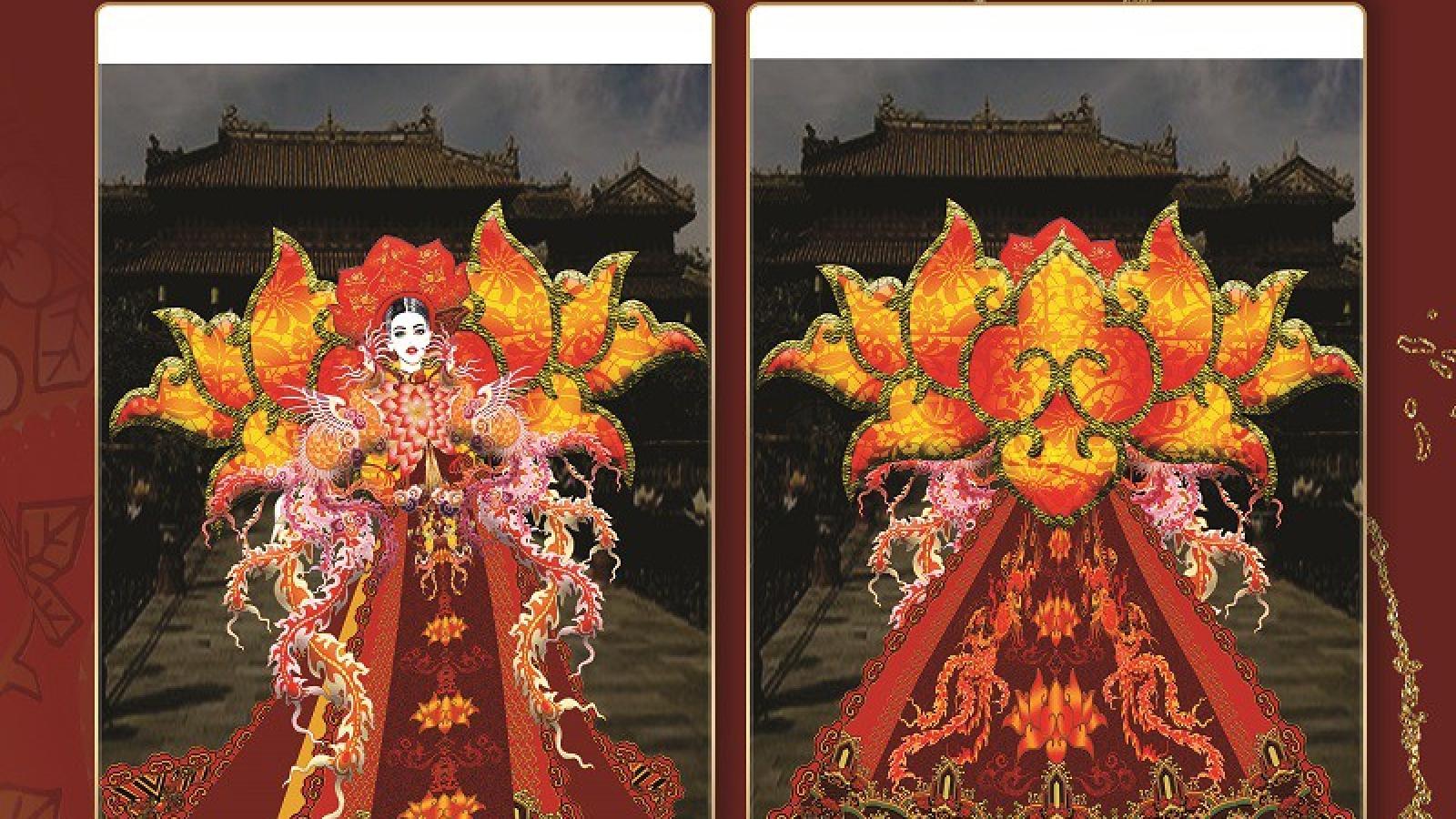 Độc đáo các thiết kế trang phục dân tộc cho Khánh Vân tại Miss Universe