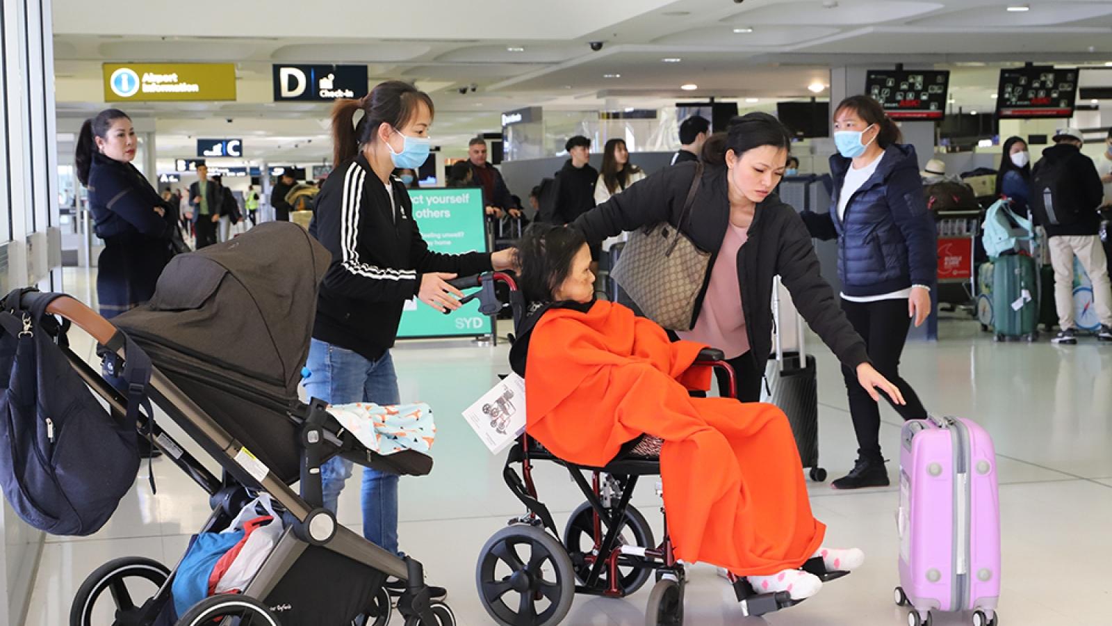 Thông báo về chuyến bay thứ 3 đưa người Việt từ Australia về nước