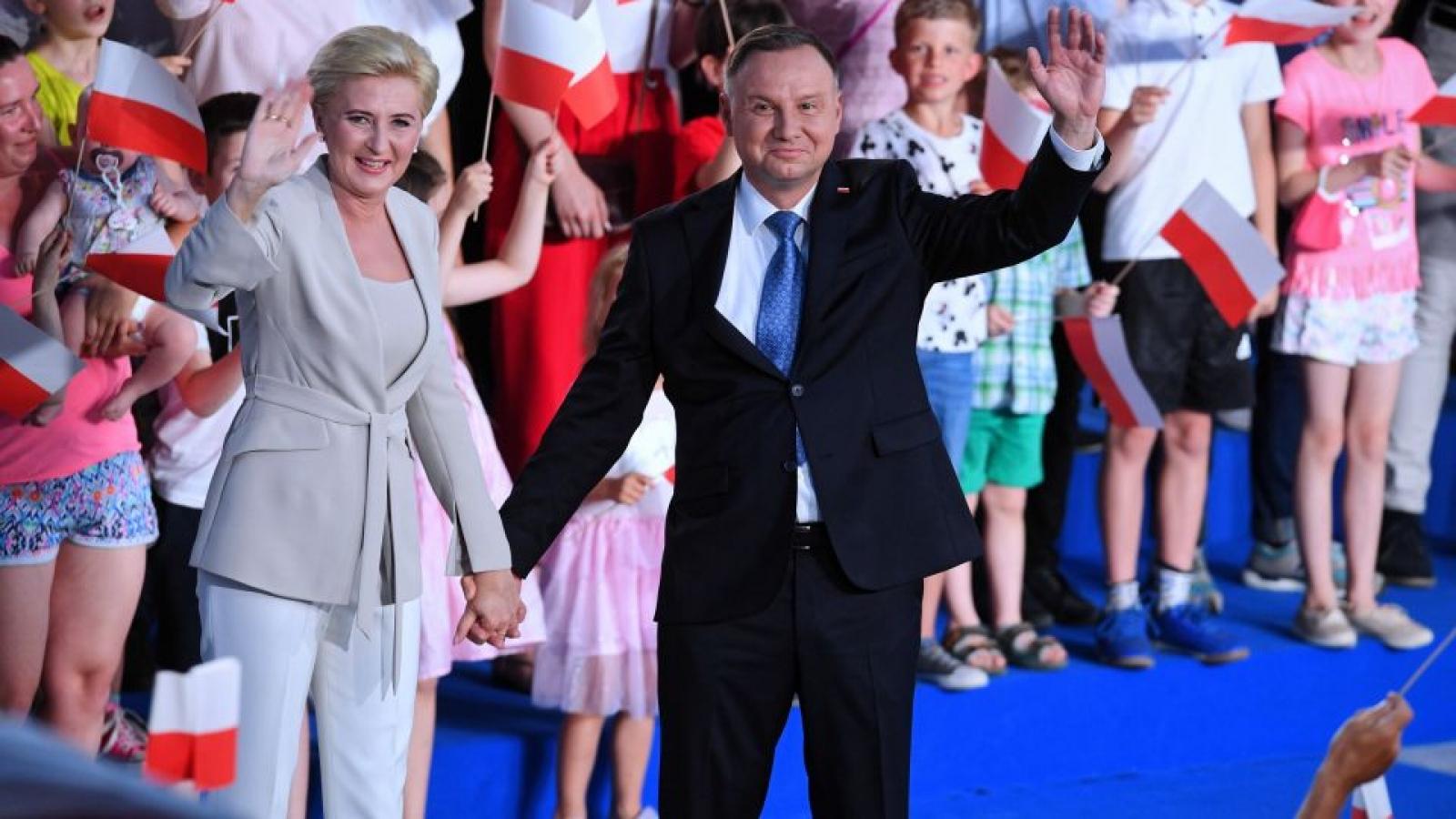 Tổng thống Duda tuyên bố chiến thắng vòng 2 bầu cử tổng thống Ba Lan