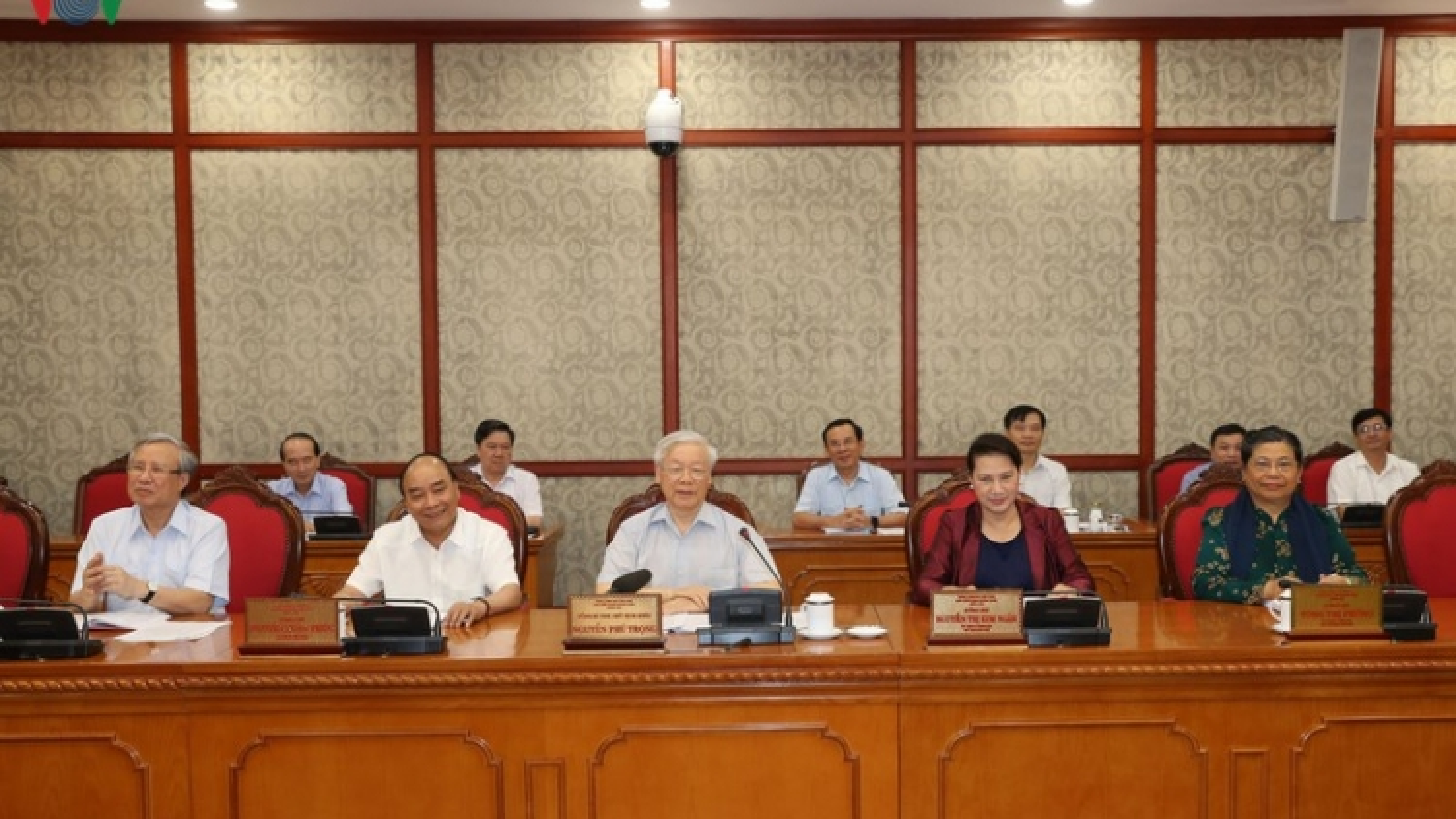 Bộ Chính trị làm việc với Ban Thường vụ Tỉnh ủy Thanh Hóa