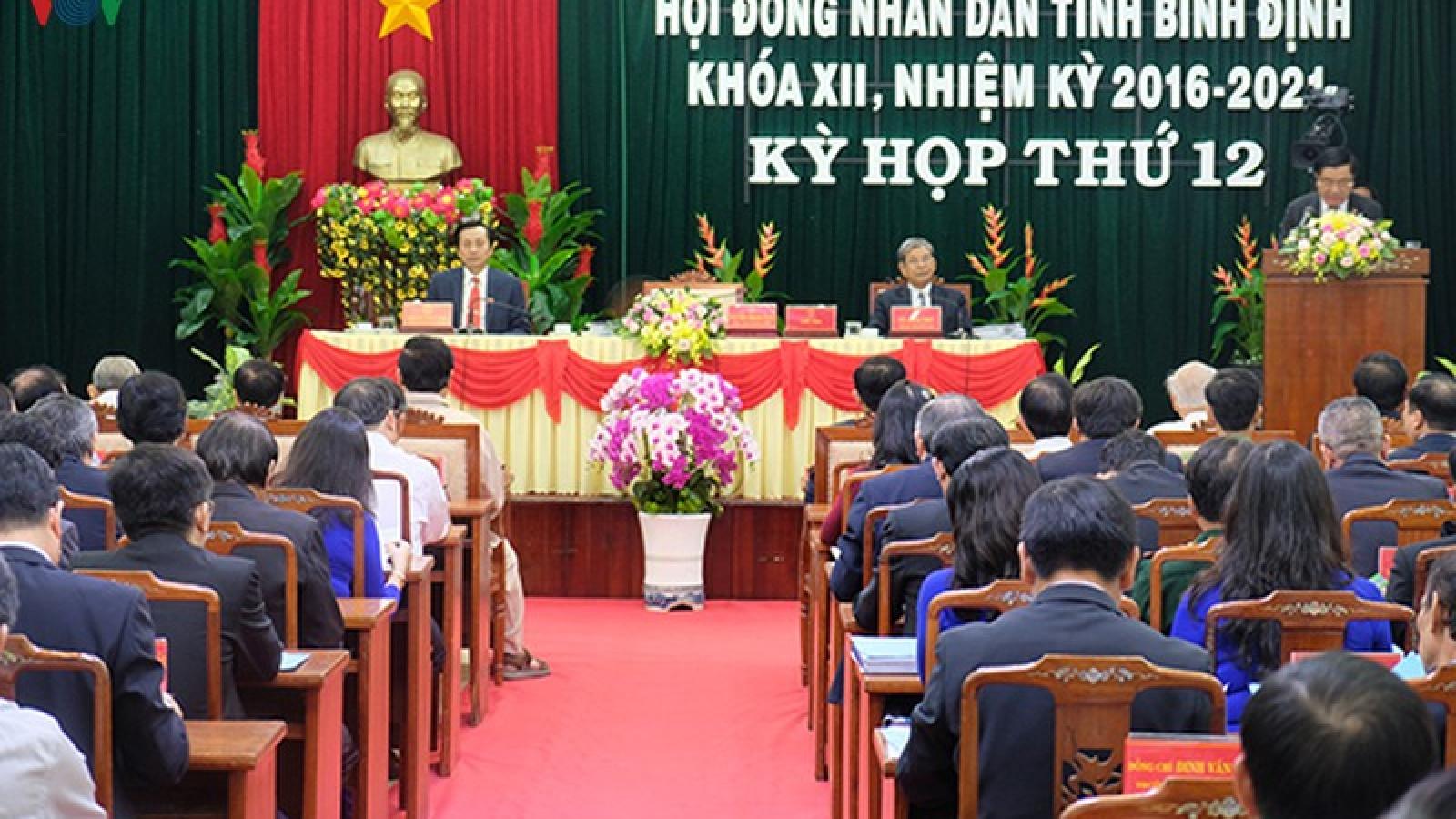 Lần đầu tiên HĐND tỉnh Bình Định không tổ chức chất vấn trực tiếp
