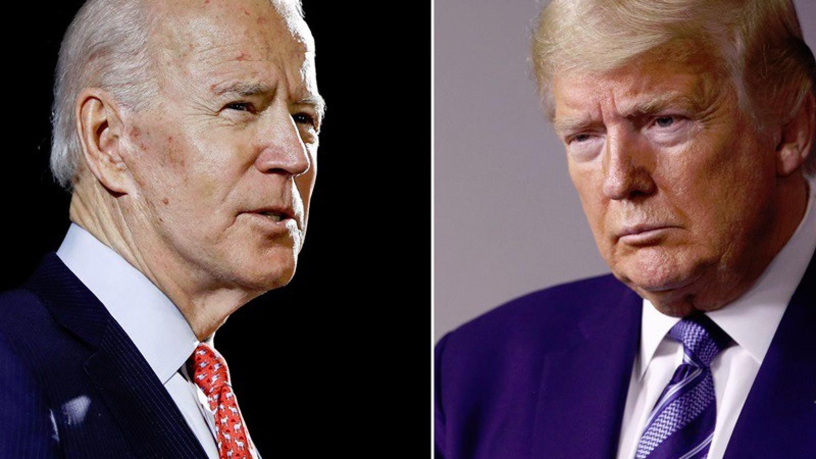 Ông Biden tiếp tục dẫn trước Tổng thống Trump trong các khảo sát