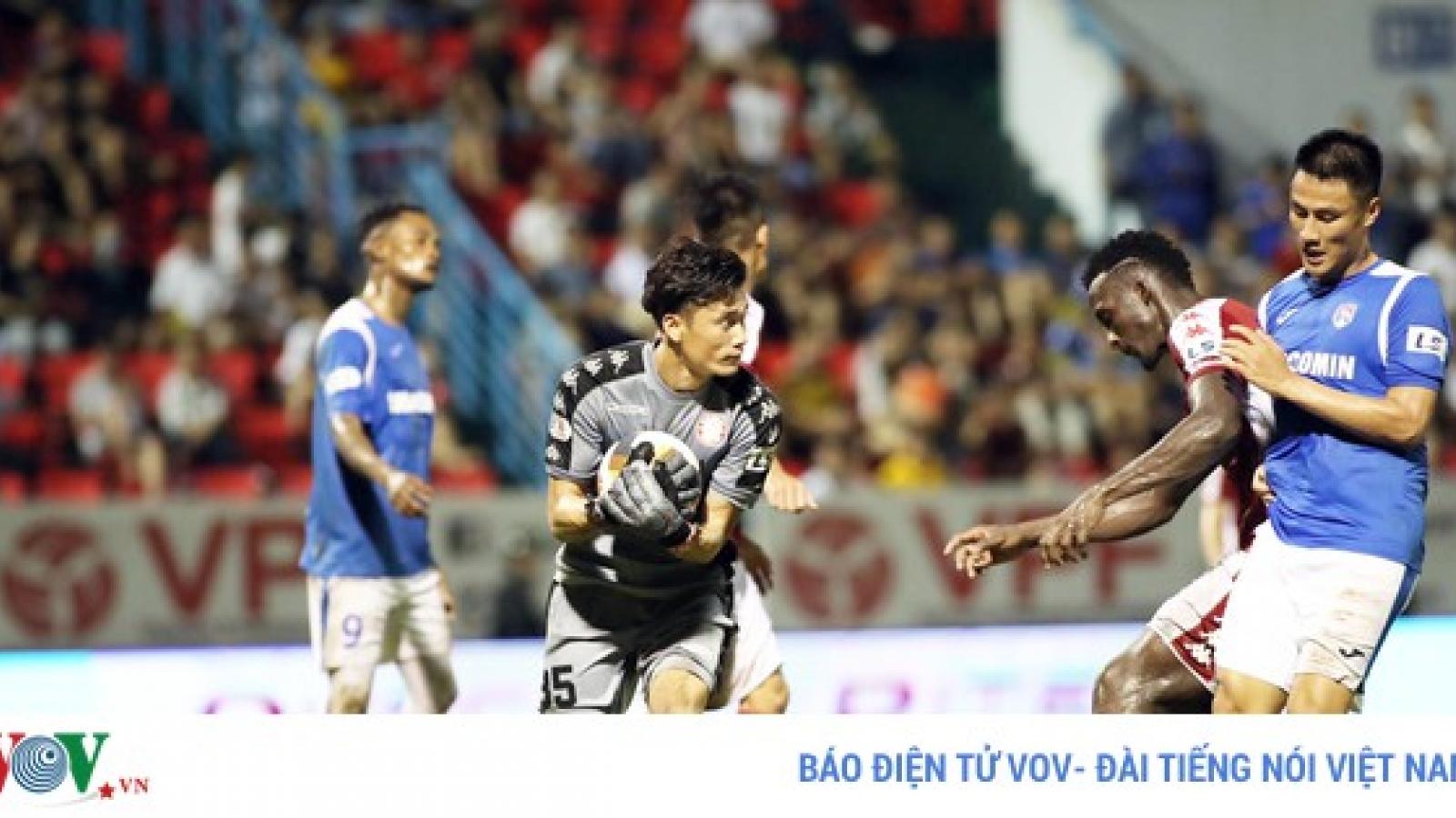 Top 5 pha cứu thua xuất thần ở vòng 9 V-League: Tiếc cho Bùi Tiến Dũng